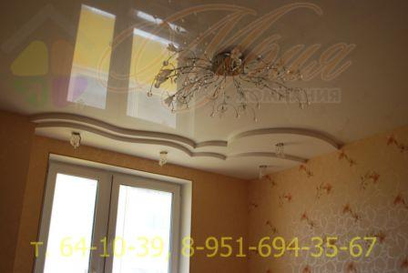 Натяжной потолок Рыленкова 61 а
