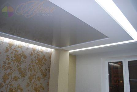 Транспорентное полотно с подсветкой
