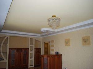 потолки тканевые