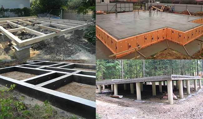Виды фундамента основа основ при строительстве здания